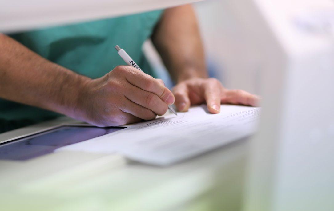 Schreiben, Detail