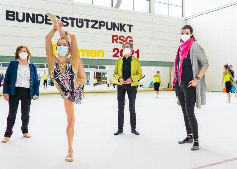 Sportmedizinische Fachabteilung der Paracelsus-Klinik Bremen kooperiert ab sofort mit dem Bundesstützpunkt für rhythmische Sportgymnastik